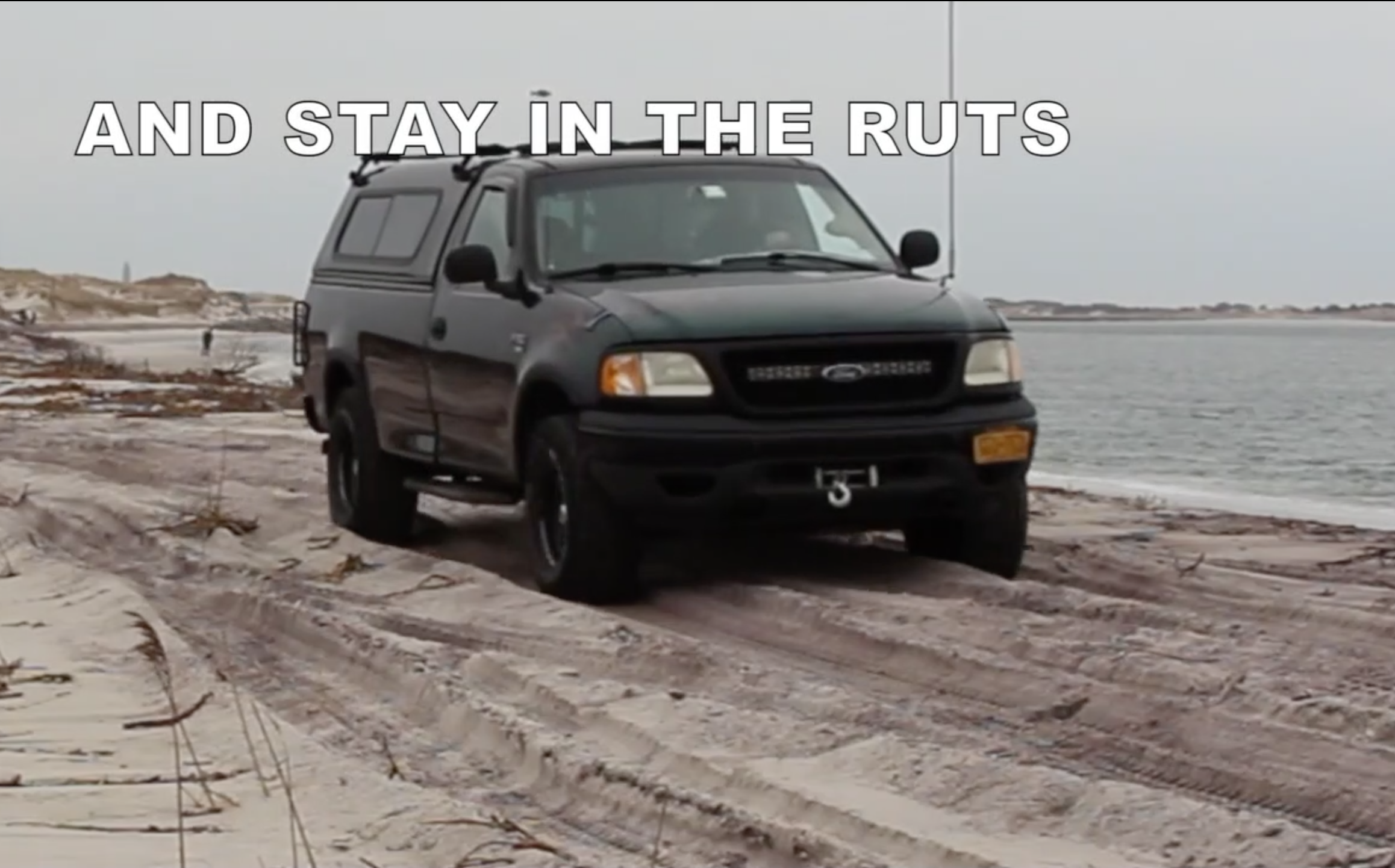 Beach Driving 101: How to Get to Your Surf Fishing Spot Without Getting Stuck