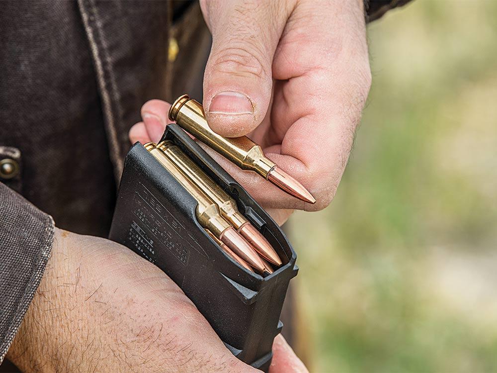 AR Rifle long-range magazines