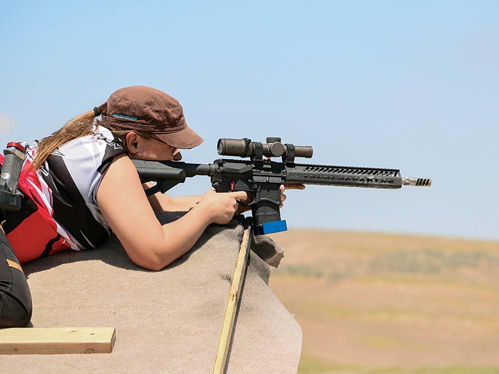 Katie Seekins long-range AR rifle tips