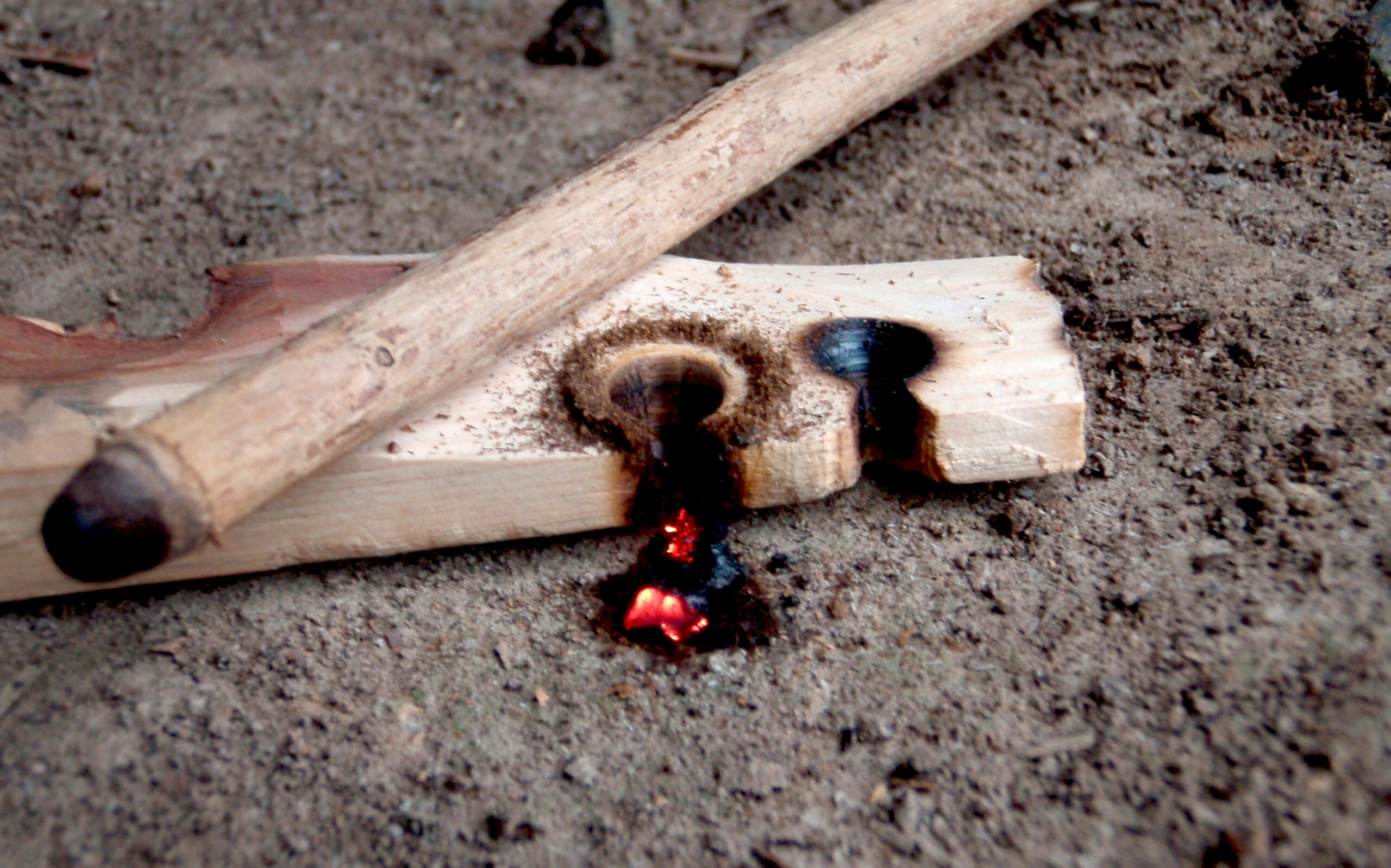 Survival Skills: Hand Drill Fire Making