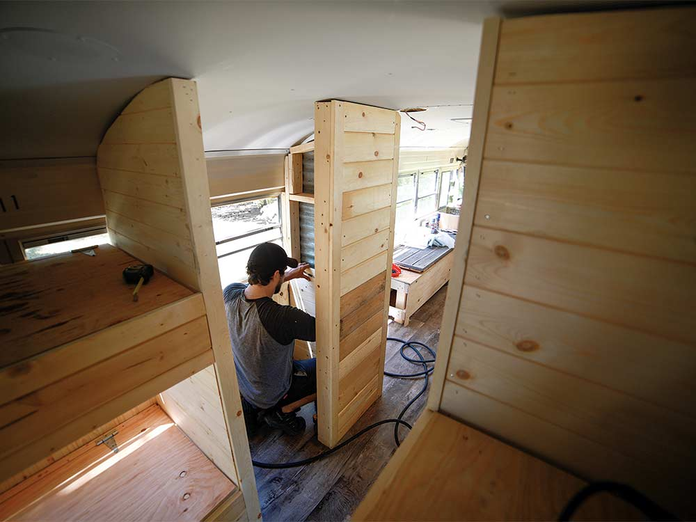 sam soholt bus building interior