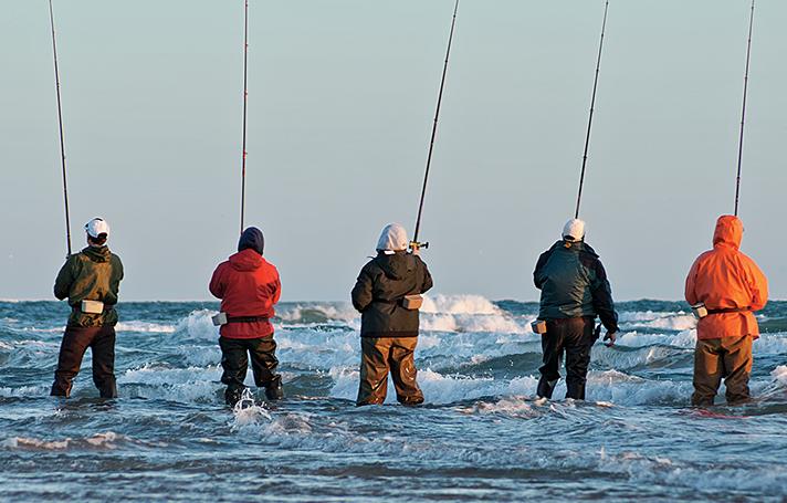 Surf Fishing: Three Coastal Cities with Killer Bites
