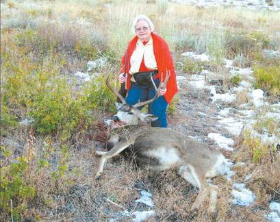 Two Grannies, Two Trophy Bucks