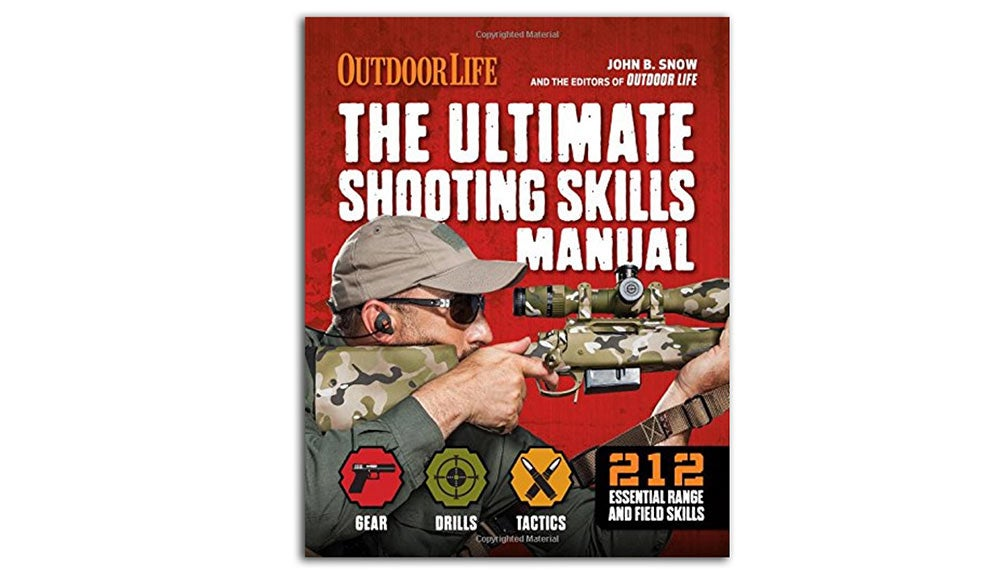 the cover of outdoor life's ultimate shooting skills manual