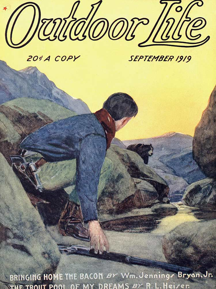 Cover of the September 1919 issue of Outdoor Life
