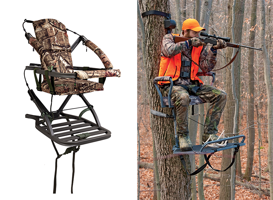 How to Shoot from a Climbing Stand