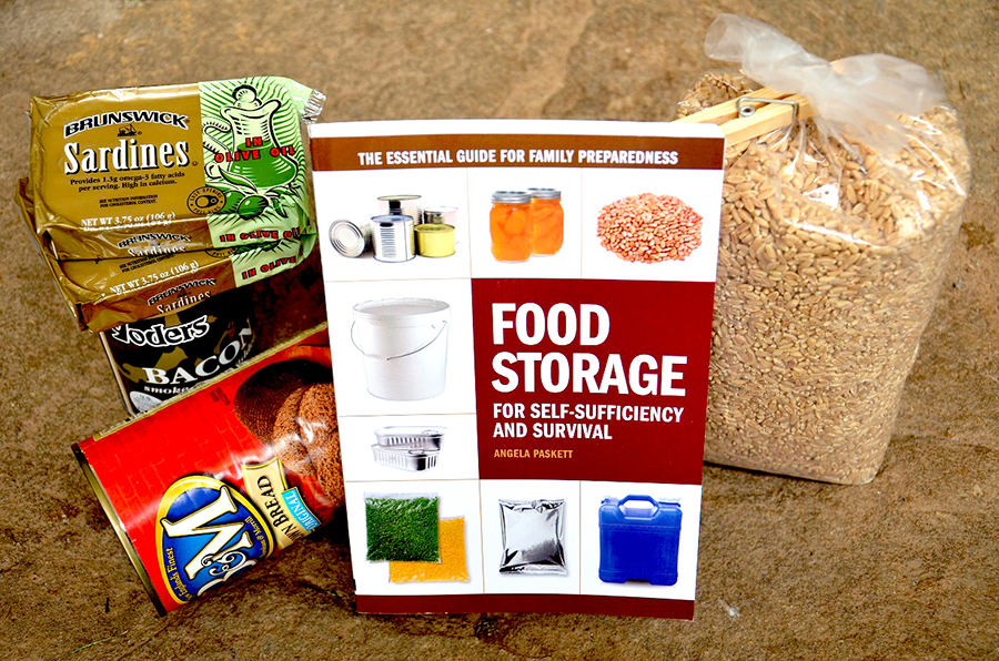 Survival Book Review:  Food Storage For Self-Sufficiency and Survival