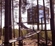Eco-Friendly Swedish Hotel Located in Trees