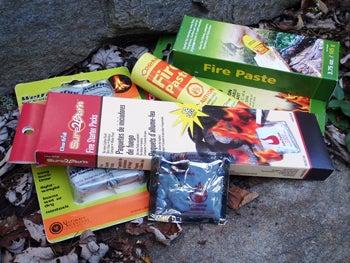 Survival Gear Test: Four Classic Fire Starters