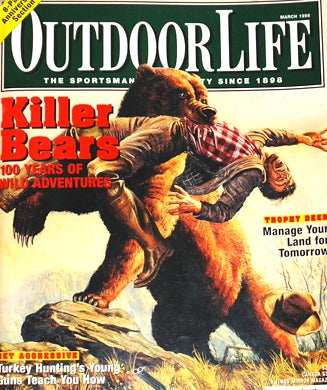 The 30 Best Outdoor Life Bear Attack Covers of All Time