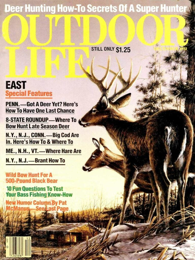 December 1981 Cover of Outdoor Life