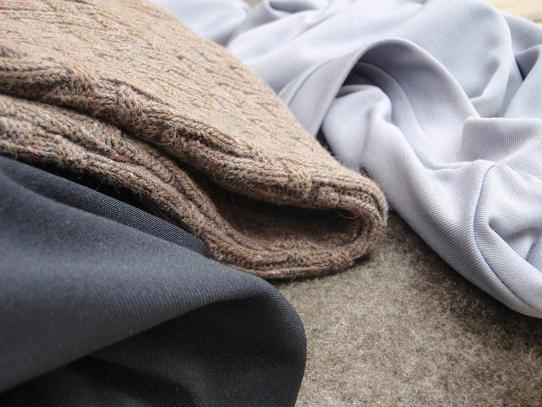 warm wool synthetic layers