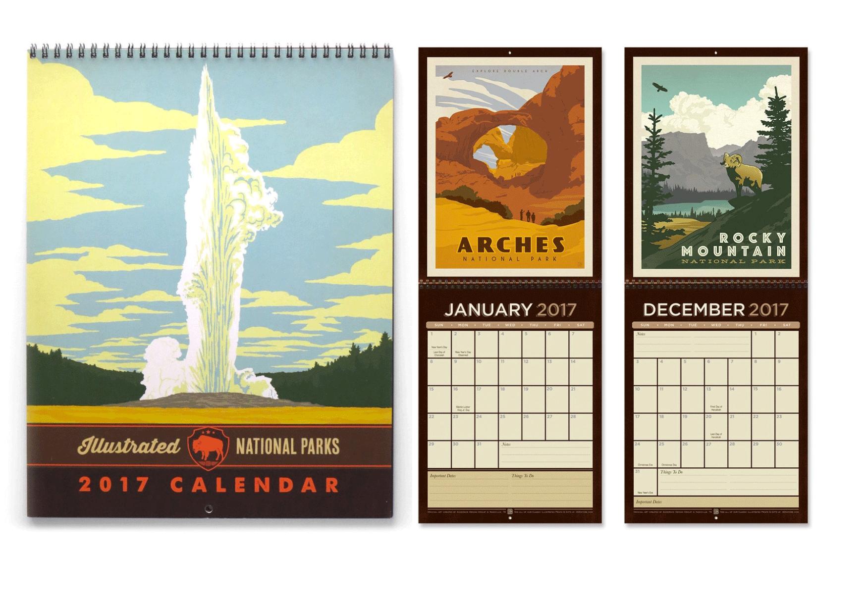 Parks Calendar