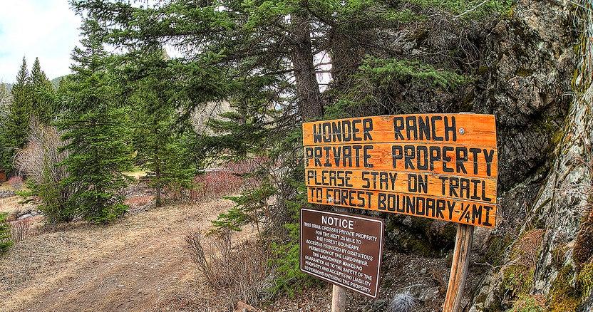 wonder ranch public land