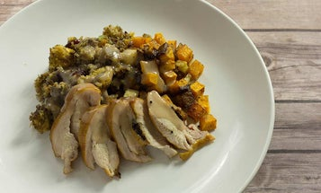 How to Make Smoked Wild Turkey with Highbush Cranberry Gravy