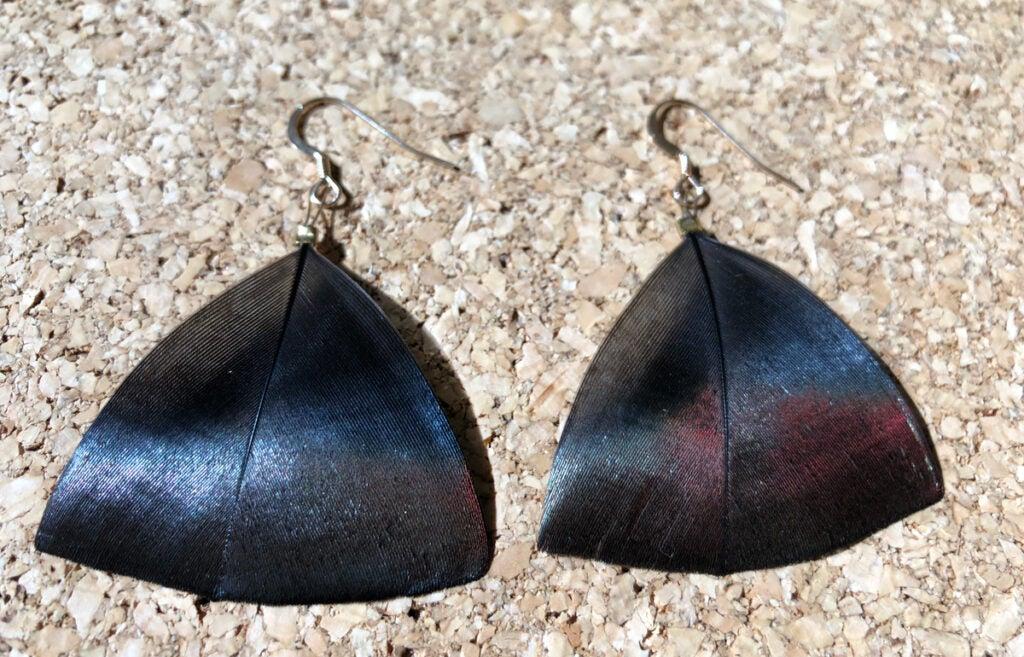 """""""wild-turkey-feather-earrings-by-natalie-krebs"""""""