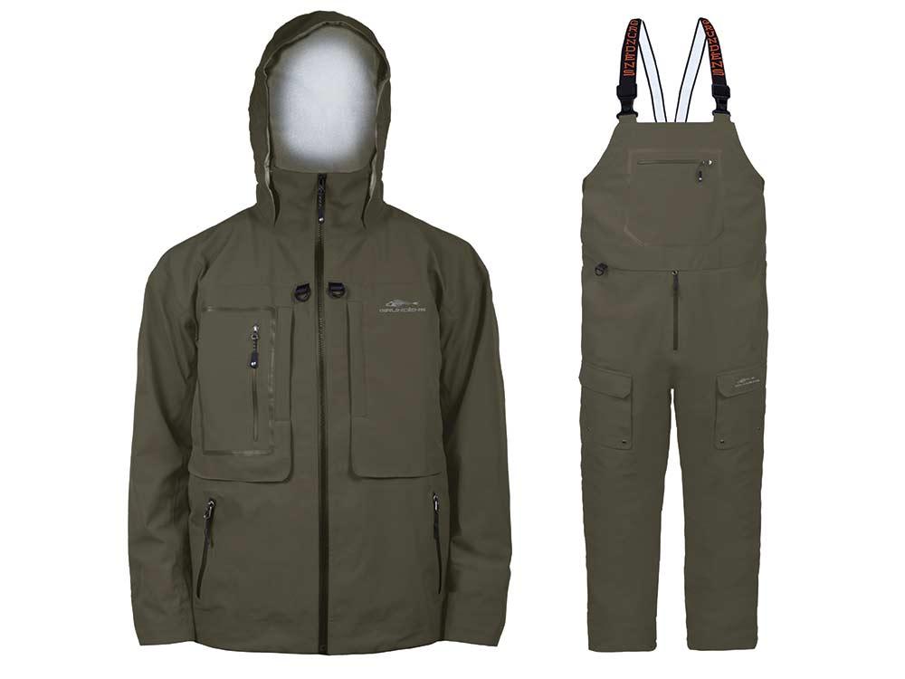 grundens dark and stormy jacket bibs