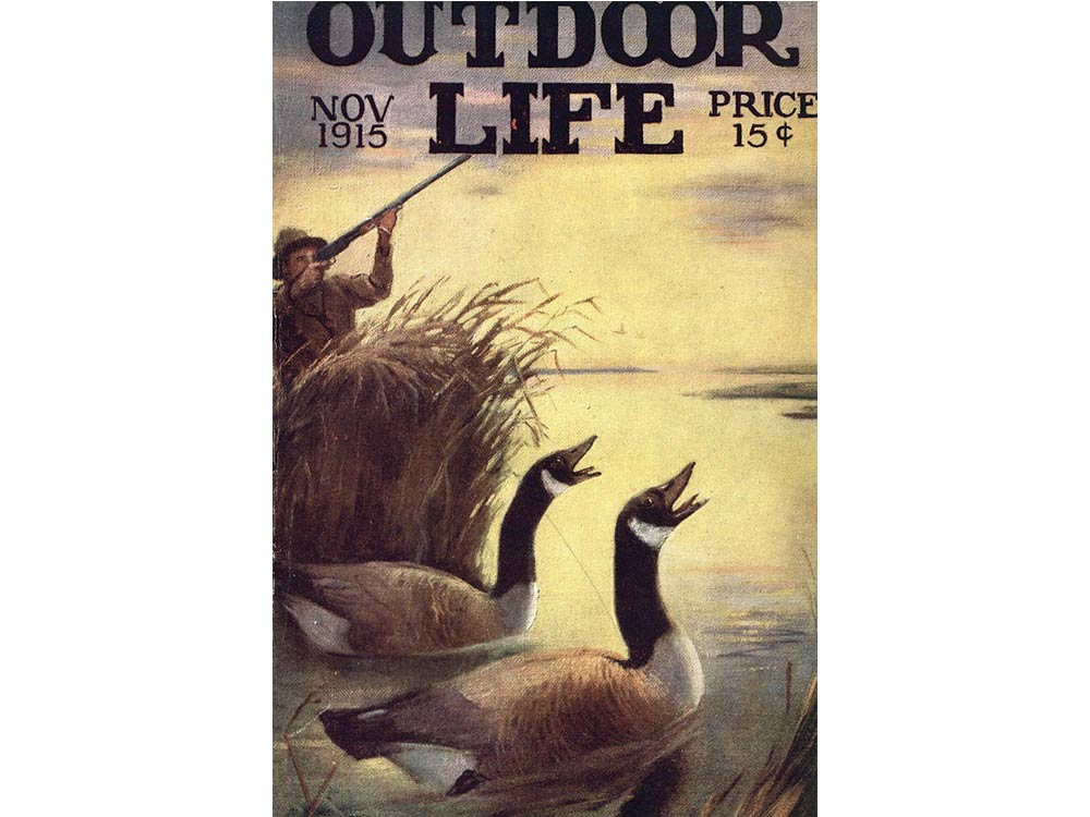 November 1915 cover of Outdoor Life