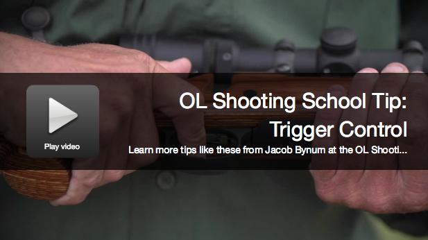 Shooting School Tips: Better Trigger Control