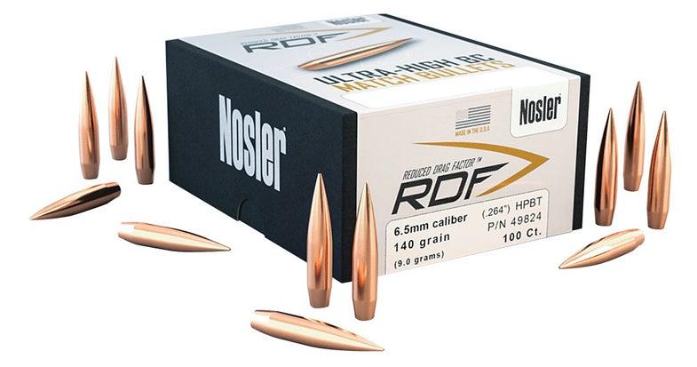 Nosler 6.5 Creedmoor RDF ammunition