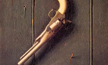 Gun of the Week: William Harnett and the Faithful Colt, 1890