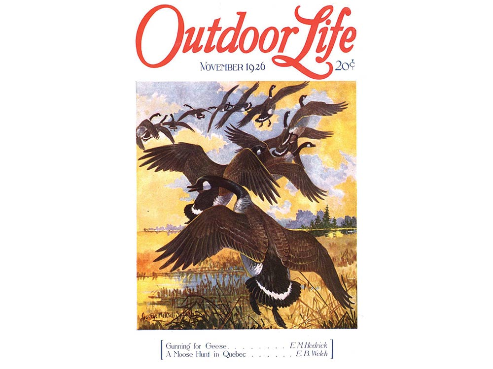 November 1926 cover of Outdoor Life