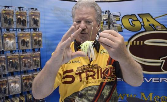 ICAST 2014 New Fishing Lures: Mega Strike Spinnerbait