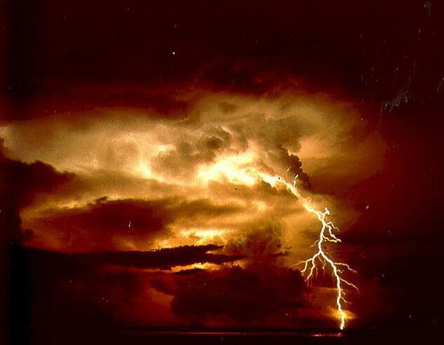 Lightning On The Skeet Field