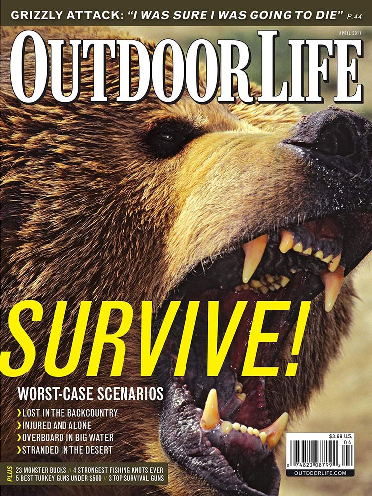 April 2011 Cover of Outdoor Life