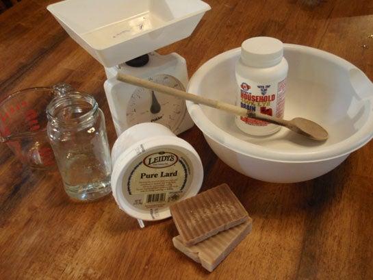 Survival Skills: How to Make Lard and Lye Soap