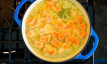 A Nordic Recipe for Salmon Soup