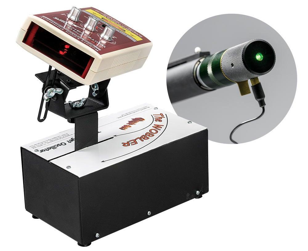 image of robert louis co laser shooting practice system