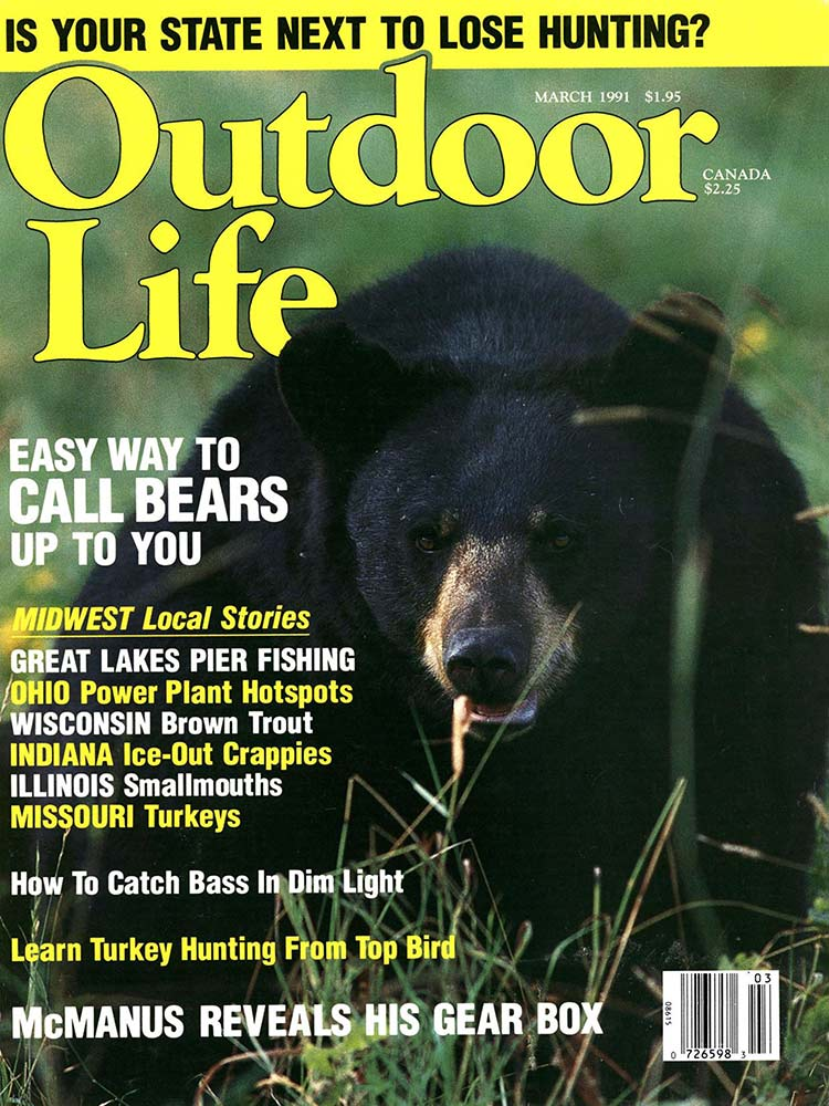 March 1991 Cover of Outdoor Life