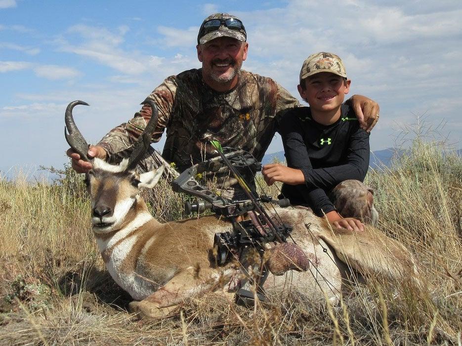 Pronghorn Bowhunting Hart Mountain National Antelope
