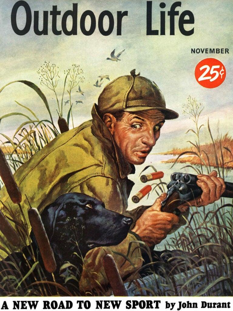 november 1951 cover outdoor life magazine