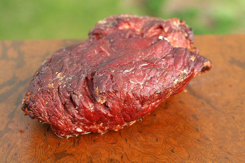 cooked venison ham