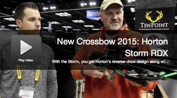 New Crossbow: Horton Storm RDX