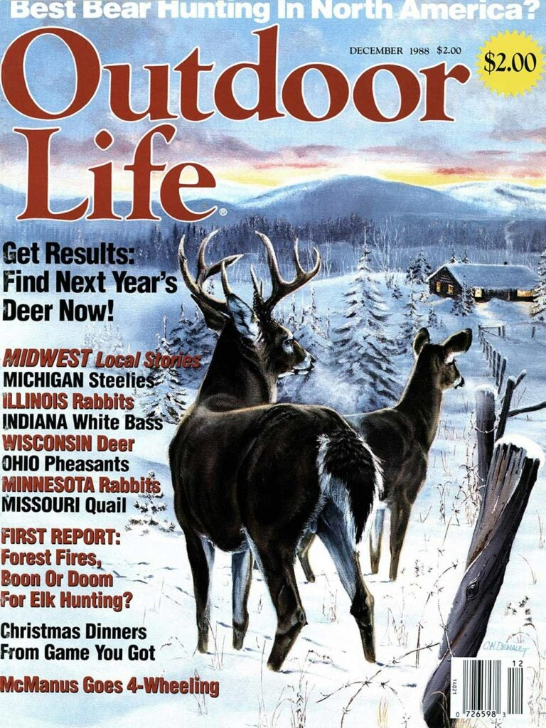 December 1988 Cover of Outdoor Life