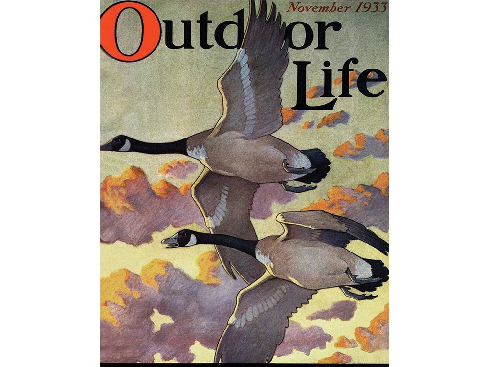November 1933 cover of Outdoor Life