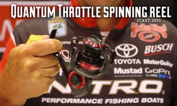 New Fishing Gear: Quantum Throttle Spinning Reel