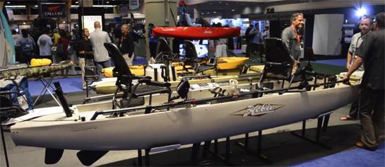 ICAST 2014: Hobie Pro Angler 17T