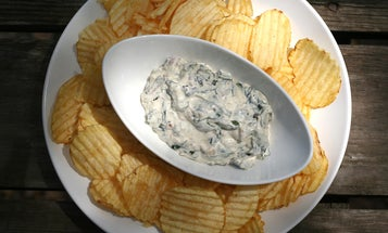 An Easy Recipe for Wild Ramp and Bacon Dip