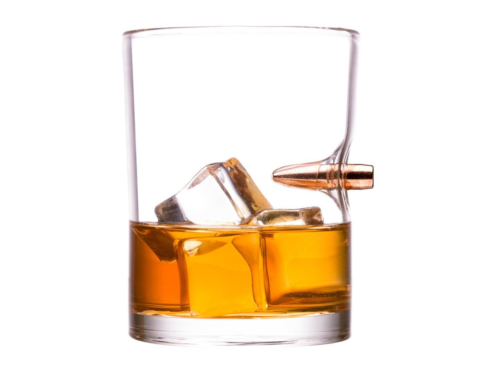 .308 Real Bullet Whiskey Glass
