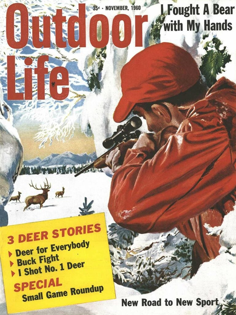 November 1960 Cover of Outdoor Life
