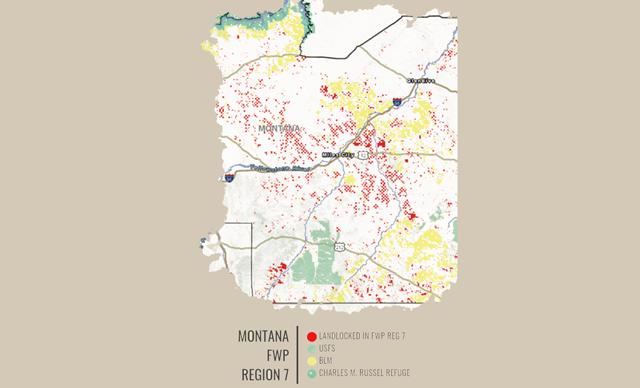 inaccessible public lands