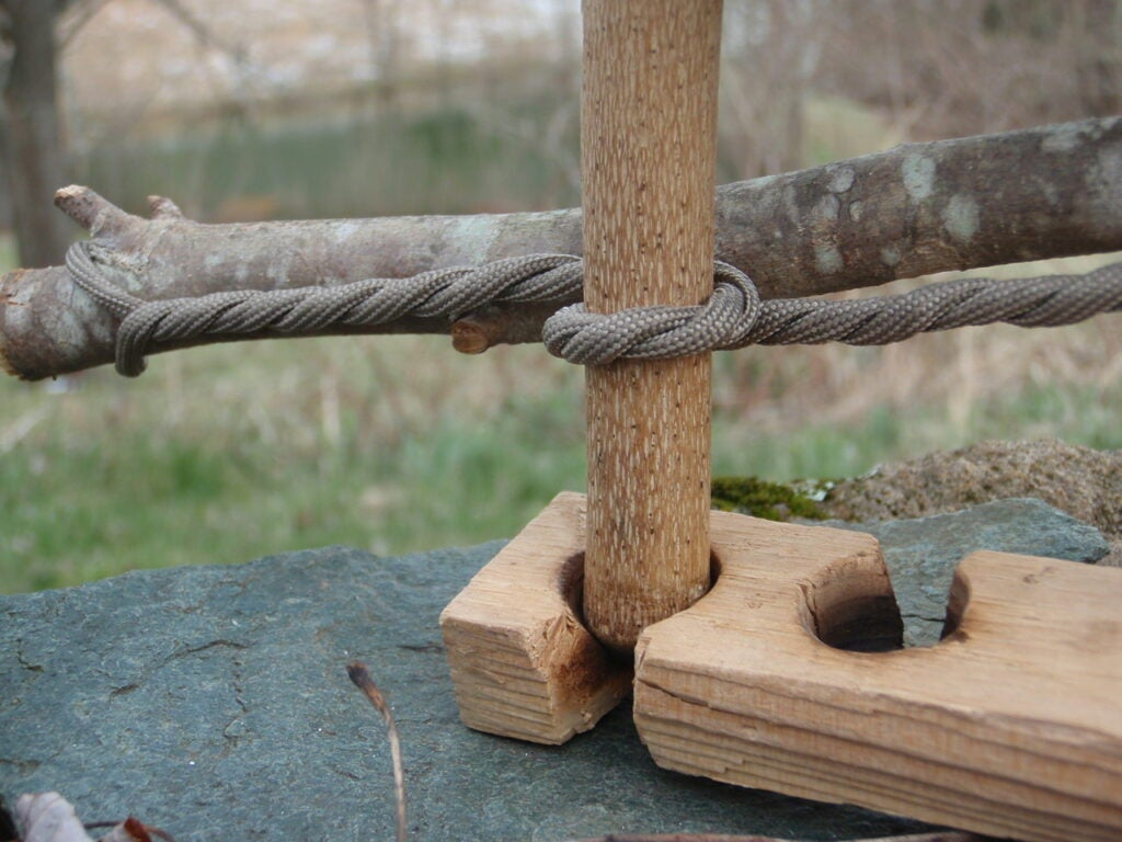 bootlace bow drill