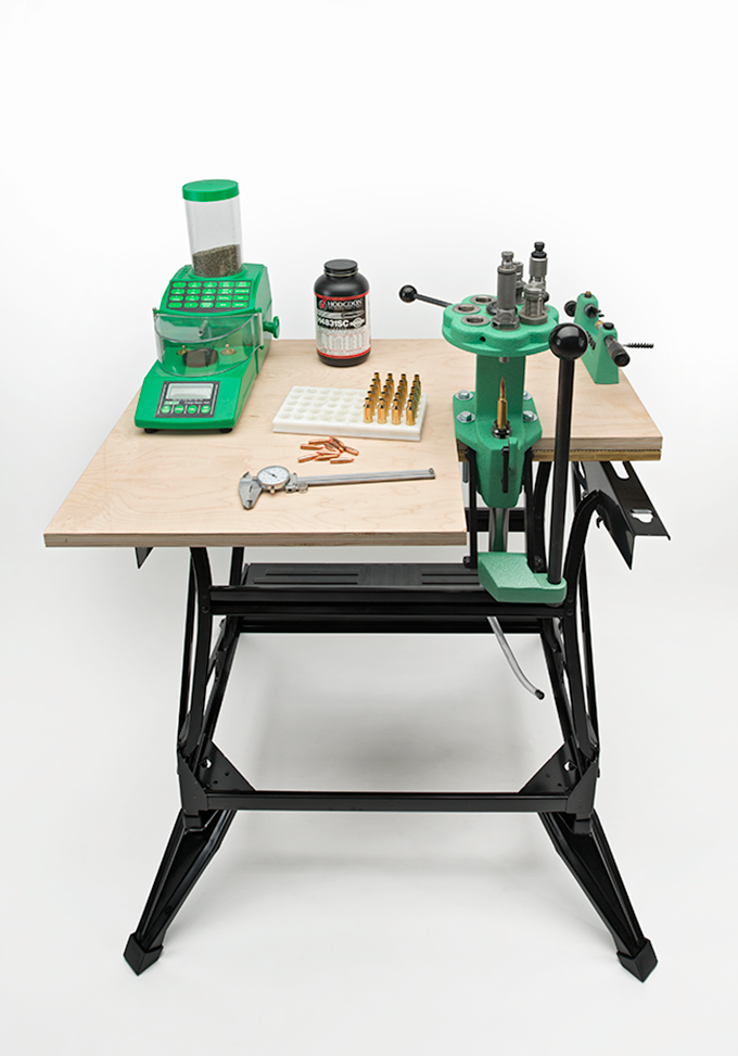 DIY: How to Build a Compact Reloading Bench