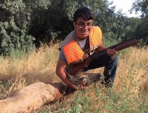 Mule deer hunting at Umatilla National Wildlife Refuge