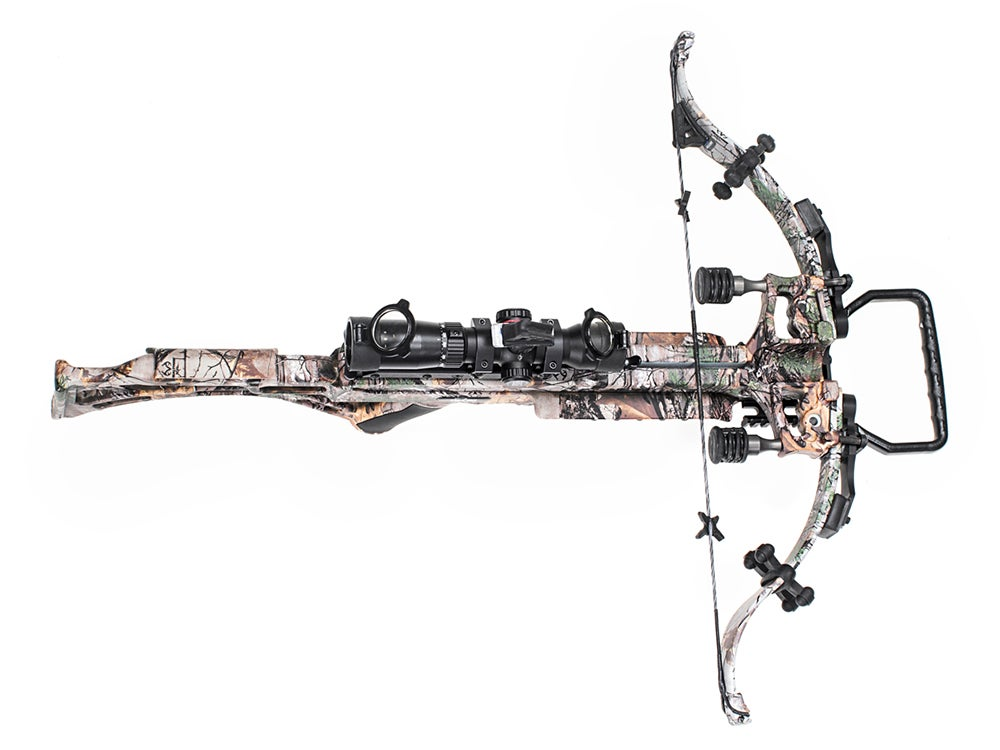 The Micro Suppressor Crossbow from Excalibur