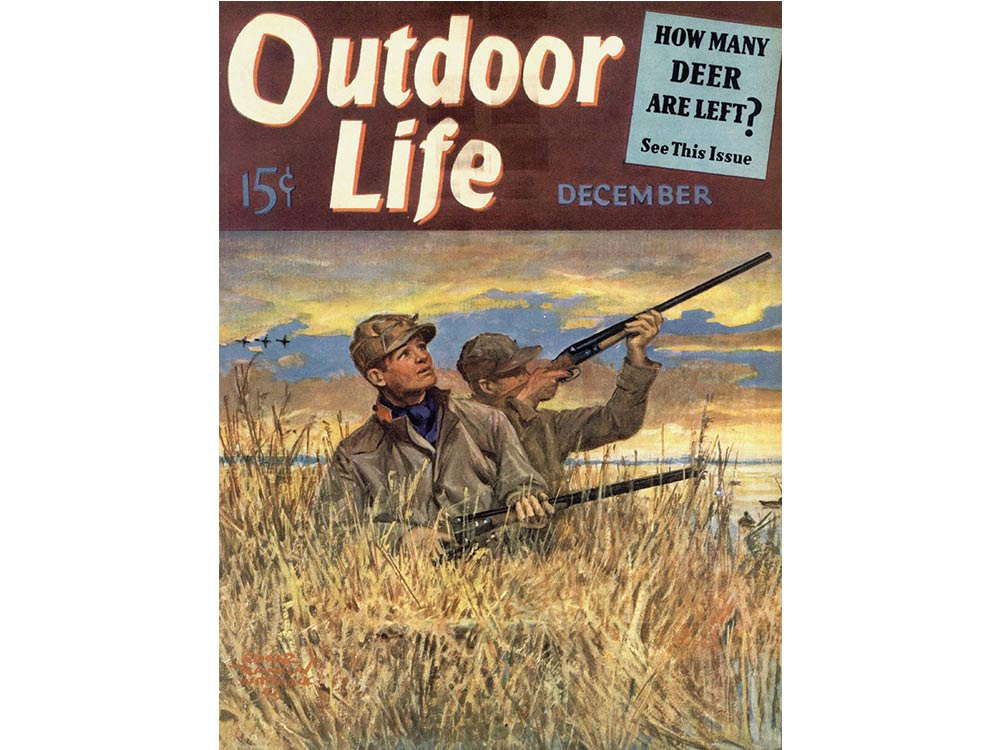 December 1940 cover of Outdoor Life